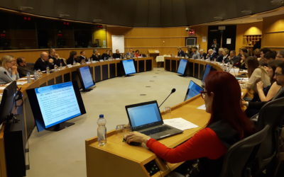 Meeting of the European Parliament Interest group on Mental Health, Wellbeing and Brain Disorders held on 3 December 2018