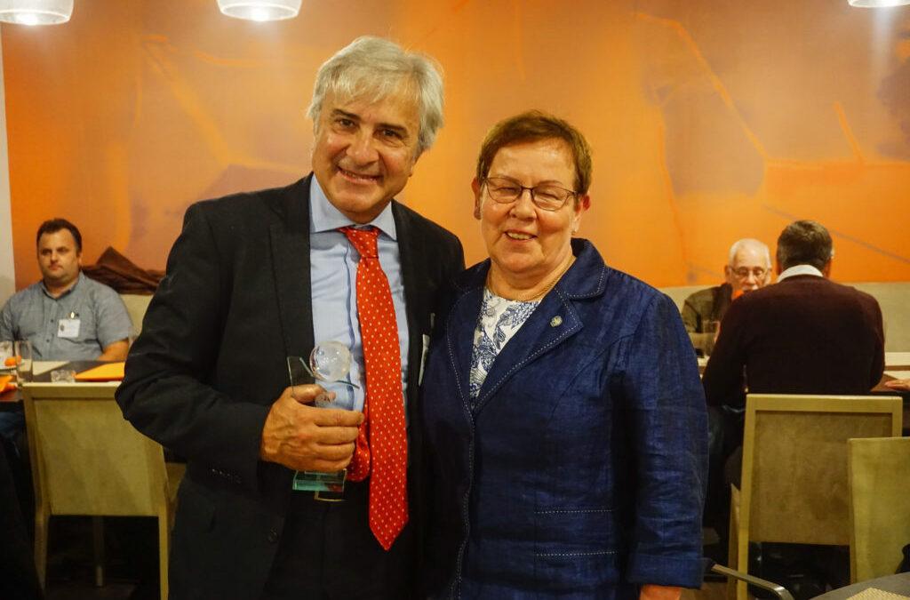 Dr. Roberto MEZZINA Italian psychiatrist received GAMIAN-Europe Personality Award